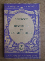 Anticariat: Rene Descartes - Discours de la methode (1934)