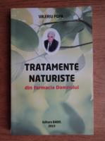 Anticariat: Valeriu Popa - Tratamente naturiste din farmacia Domnului
