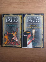 Christian Jacq - Razbunarea zeilor (2 volume)