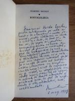 Anticariat: Dumitru Matala - Rostogolierea (cu autograful autorului)
