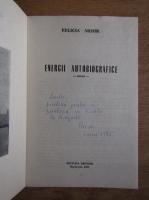 Anticariat: Felicia Mohr - Energii autobiografice (cu autograful autorului)