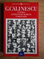 Anticariat: George Calinescu - Istoria literaturii romane. Compendiu