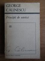 Anticariat: George Calinescu - Principii de estetica