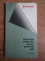 Anticariat: Gh. Stefanescu - Formarea poporului roman si a limbii sale