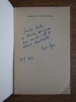 Nora Iuga - Vina nu e a mea (cu autograful autoarei)