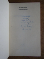 Radu Petrescu - Ocheanul intors (cu autograful autorului)