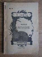 Vasile Conta - Bazele metafizicei (1895)