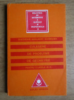 Gheorghe Adalbert Schneider - Culegere de probleme de geometrie, pentru clasele IX-X