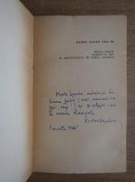 H. G. Wells - Opere alese. Hrana zeilor (volumul 3, cu autograful lui Victor Kernbach)