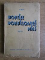 Isac Peltz - Noptile domnisoarei Mili (1936)