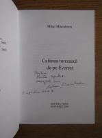 Anticariat: Mihai Minculescu - Cafeaua turceasca de pe Everest (cu autograful autorului)