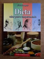 Anticariat: Paul Dupont - Dieta celor patru temperamente
