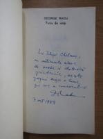 Anticariat: Radu George - Funia de nisip (cu autograful autorului)