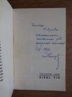 Anticariat: Teodor Has - Zidul viu (cu autograful autorului)