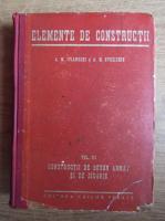 Anticariat: A. M. Ivianschi - Elemente de constructii (1948)