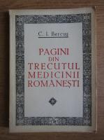 Anticariat: C. I. Bercus - Pagini din trecutul medicinii romanesti