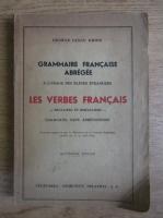 George Iancu Ghidu - Les verbes francais (1943)