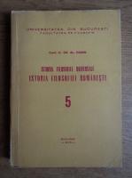 Gh. Al. Cazan - Istoria filosofiei universale. Istoria filosofiei romanesti