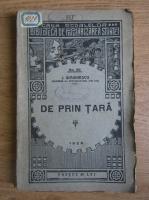 Anticariat: I. Simionescu - Lecturi geografice de prin tara (1928)