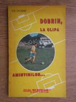 Anticariat: Ilie Dobre - Dobrin, la clipa amintirilor