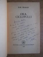 Anticariat: Ilie Traian - Ora ciclopului (cu autograful autorului)