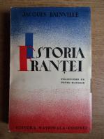 Anticariat: Jacques Bainville - Istoria Frantei (volumul 1, 1939)