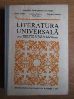 Ovidiu Drimba - Literatura universala