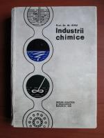 Anticariat: M. Iovu - Industrii chimice