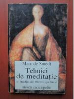 Anticariat: Marc de Smedt - Tehnici de meditatie