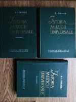 R. I. Gruber - Istoria muzicii universale (3 volume)
