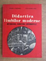 Anticariat: Eugen P. Noveanu - Didactica limbilor moderne. Metodologia cercetarii experimentale