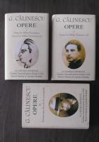 George Calinescu - Opere, volumele 1, 2, 3 (Academia Romana)
