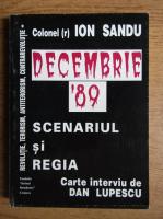 Anticariat: Ion Sandu - Decembrie 89' scenariul si regia