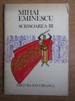 Anticariat: Mihai Eminescu - Scrisoarea III