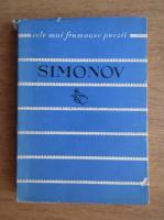 Anticariat: Simonov - Cele mai frumoase poezii