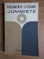 Documente literare junimiste