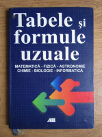 Gabriela Diaconeasa - Tabele si formule uzuale