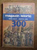 Anticariat: Magazin istoric, anul XXVI, nr. 3 (300), martie 1992