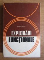 Anticariat: Romel Barbu - Explorari functionale