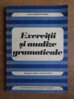 Anticariat: Silviu Constantinescu - Exercitii si analize gramaticale. Culegere pentru clasele V-VIII