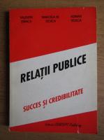 Valentin Stancu - Relatii publice