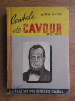 Anticariat: Alfredo Panzini - Contele de Cavour, 1810-1816 (1932)