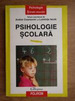 Anticariat: Andrei Cosmovici, Luminita Iacob - Psihologie scolara