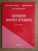 Anticariat: George Gruia - Genuine short stories