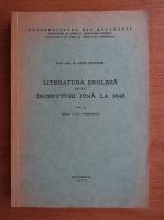 Leon Levitchi - Literatura engleza de la inceputuri pana la 1648 (volumul 2)