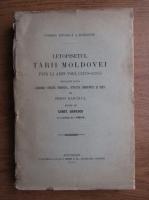 Simion Dascalul - Letopisetul tarii Moldovei pana la Aron Voda, 1359-1595 (1916)