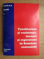 Totalitarism si rezistenta, teroare si represiune in Romania comunista