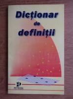 Anticariat: Adrian Atanasiu - Dictionar de definitii