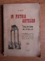 Al. Bertea - In patria artelor, Calatorii in Italia (1925)