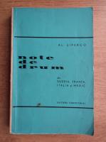 Al. Siperco - Note de drum